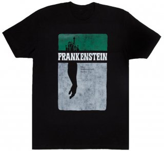 Mary Wollstonecraft Shelley / Frankenstein Tee (Black)