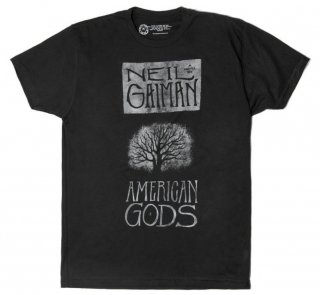 Neil Gaiman / American Gods Tee (Black)<img class='new_mark_img2' src='https://img.shop-pro.jp/img/new/icons56.gif' style='border:none;display:inline;margin:0px;padding:0px;width:auto;' />