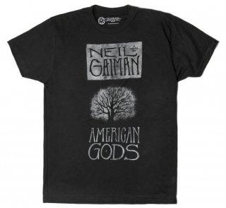 Neil Gaiman / American Gods Tee (Black)