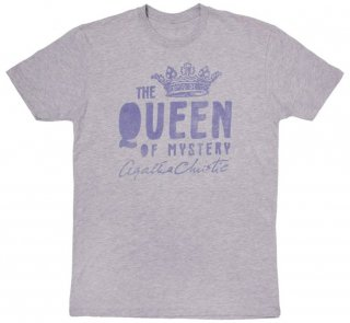 Agatha Christie [The Queen of Mystery] Tee (Heather Grey)