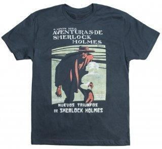 Arthur Conan Doyle / Aventuras De Sherlock Holmes Tee (Indigo)