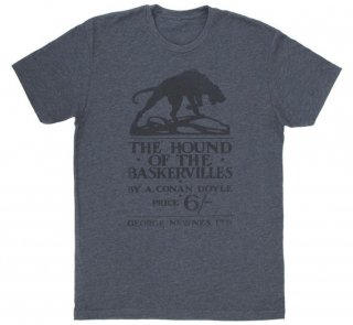 Arthur Conan Doyle / The Hound of the Baskervilles Tee (Charcoal)