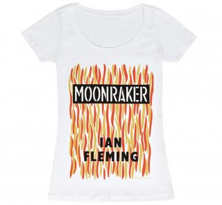 Ian Fleming / Moonraker Scoop Neck Tee (White) (Womens)