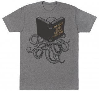 FANTASTIC BOOKS & WHERE TO FIND THEM Tee (Heather Grey)