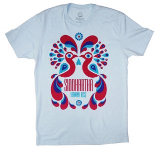 Hermann Hesse / Siddhartha Tee (Light Blue)