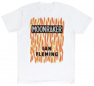 Ian Fleming / Moonraker Tee (White)