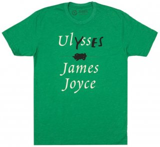 James Joyce / Ulysses Tee (Kelly Green)