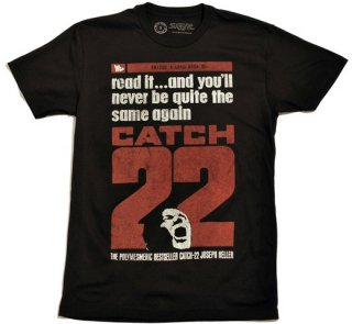 Joseph Heller / Catch-22 Tee (Black) (UK Edition)
