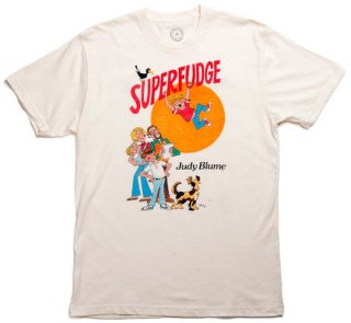 Judy Blume / Superfudge Tee (Natural)