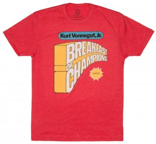 Kurt Vonnegut / Breakfast of Champions Tee (Red)