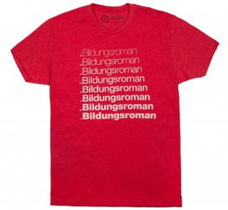 Literary Terms / Bildungsroman Tee (Red)