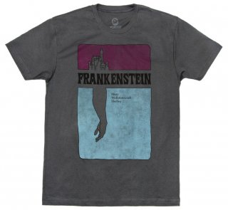 Mary Wollstonecraft Shelley / Frankenstein Tee (Heavy Metal)