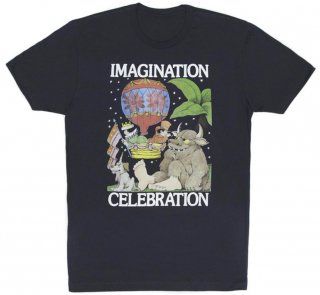 Maurice Sendak / IMAGINATION CELEBRATION Tee (Midnight Navy)