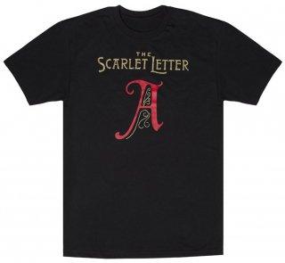Nathaniel Hawthorne / The Scarlet Letter Tee [Gilded] (Black)