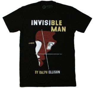 Ralph Ellison / Invisible Man Tee (Black)