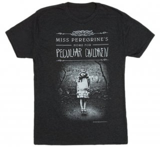 Ransom Riggs / Miss Peregrine's Home for Peculiar Children Tee (Black)