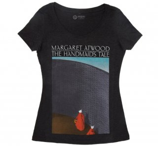Margaret Atwood / The Handmaid's Tale Scoop Neck Tee 2 (Black) (Womens)