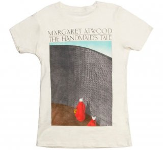 Margaret Atwood / The Handmaid's Tale Tee (Natural) (Womens)<img class='new_mark_img2' src='https://img.shop-pro.jp/img/new/icons58.gif' style='border:none;display:inline;margin:0px;padding:0px;width:auto;' />