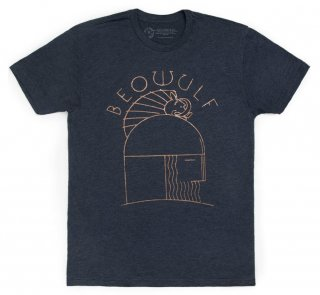 Beowulf Tee (Midnight Navy)