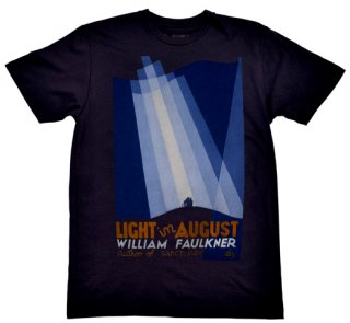 William Faulkner / Light in August Tee (Navy)