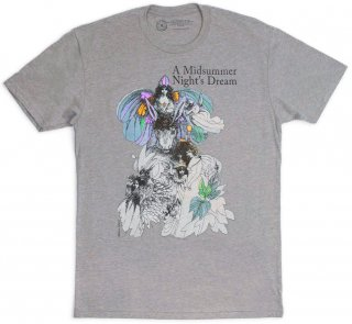 William Shakespeare / A Midsummer Night's Dream Tee (Dark Heather Grey)