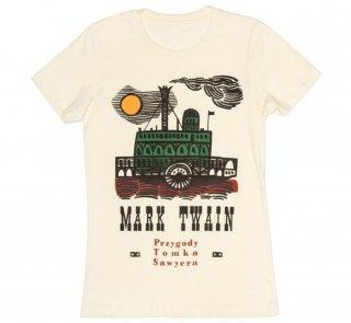 Mark Twain / Przygody Tomka Sawyera Tee (Ivory) (Womens)