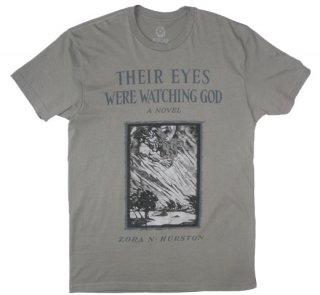 Zora Neale Hurston / Their Eyes Were Watching God Tee (Warm Grey)