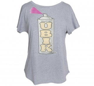 Philip K. Dick / UBIK Dolman Tee (Heather Grey) (Womens)