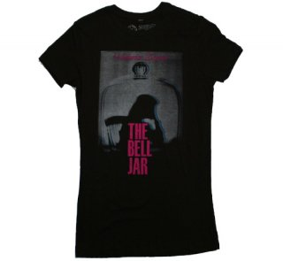 Sylvia Plath / The Bell Jar Tee (Black) (Womens)