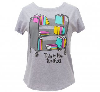This is How We Roll Dolman Tee (Heather Grey) (Womens)