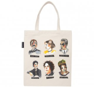 Punk Rock Authors Tote Bag 2