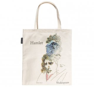William Shakespeare / Hamlet and The Tempest Tote Bag