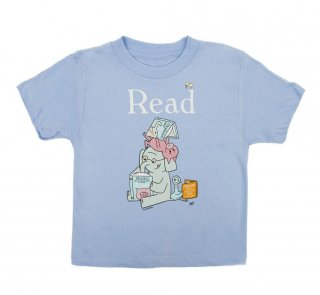 Mo Willems / Read with Elephant & Piggie, and The Pigeon Tee (Light Blue) (Kids')