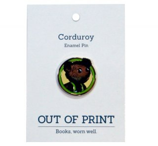 [Out of Print] Don Freeman / Corduroy Enamel Pin