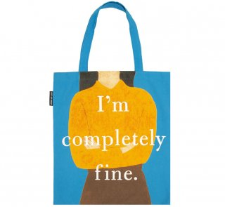 Gail Honeyman / Eleanor Oliphant is Completely Fine Tote Bag