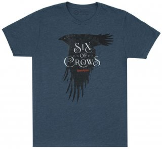 <img class='new_mark_img1' src='https://img.shop-pro.jp/img/new/icons14.gif' style='border:none;display:inline;margin:0px;padding:0px;width:auto;' />Leigh Bardugo / Six of Crows Tee (Indigo)