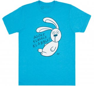 <img class='new_mark_img1' src='https://img.shop-pro.jp/img/new/icons14.gif' style='border:none;display:inline;margin:0px;padding:0px;width:auto;' />Mo Willems / Knuffle Bunny Tee (Vintage Turquoise)