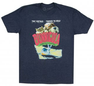 Deborah Howe and James Howe / Bunnicula: A Rabbit-Tale of Mystery Tee (Midnight Navy)