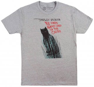 <img class='new_mark_img1' src='https://img.shop-pro.jp/img/new/icons14.gif' style='border:none;display:inline;margin:0px;padding:0px;width:auto;' />Shirley Jackson / We Have Always Lived in the Castle Tee (Dark Heather Grey)