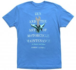 Robert M. Pirsig / Zen and the Art of Motorcycle Maintenance Tee (Turquoise)<img class='new_mark_img2' src='https://img.shop-pro.jp/img/new/icons58.gif' style='border:none;display:inline;margin:0px;padding:0px;width:auto;' />
