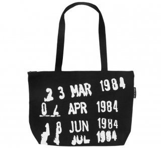 <img class='new_mark_img1' src='https://img.shop-pro.jp/img/new/icons14.gif' style='border:none;display:inline;margin:0px;padding:0px;width:auto;' />Library Stamp Market Tote Bag (Black)