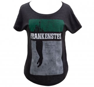 <img class='new_mark_img1' src='https://img.shop-pro.jp/img/new/icons14.gif' style='border:none;display:inline;margin:0px;padding:0px;width:auto;' />Mary Wollstonecraft Shelley / Frankenstein Relaxed Fit Tee (Black) (Womens)