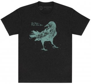 <img class='new_mark_img1' src='https://img.shop-pro.jp/img/new/icons14.gif' style='border:none;display:inline;margin:0px;padding:0px;width:auto;' />Edgar Allan Poe / The Raven Tee [Penguin Horror] (Vintage Black)