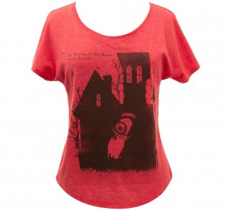 <img class='new_mark_img1' src='https://img.shop-pro.jp/img/new/icons14.gif' style='border:none;display:inline;margin:0px;padding:0px;width:auto;' />Shirley Jackson / The Haunting Of Hill House Relaxed Fit Tee [Penguin Horror] (Vintage Red) (Womens)