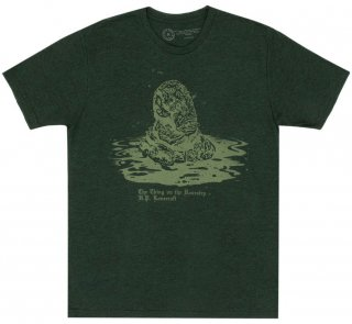 H. P. Lovecraft / The Thing on the Doorstep Tee [Penguin Horror] (Black Forest)