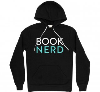 <img class='new_mark_img1' src='https://img.shop-pro.jp/img/new/icons14.gif' style='border:none;display:inline;margin:0px;padding:0px;width:auto;' />Book Nerd Hoodie (Black)