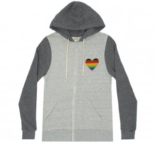 <img class='new_mark_img1' src='https://img.shop-pro.jp/img/new/icons14.gif' style='border:none;display:inline;margin:0px;padding:0px;width:auto;' />Book Nerd Pride Zip Hoodie (Oatmeal/Grey)