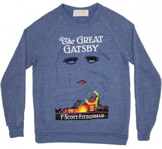 F. Scott Fitzgerald / The Great Gatsby Sweatshirt (Light Blue)<img class='new_mark_img2' src='https://img.shop-pro.jp/img/new/icons56.gif' style='border:none;display:inline;margin:0px;padding:0px;width:auto;' />