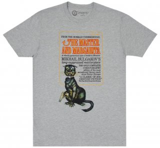 <img class='new_mark_img1' src='https://img.shop-pro.jp/img/new/icons14.gif' style='border:none;display:inline;margin:0px;padding:0px;width:auto;' />Mikhail Bulgakov / The Master and Margarita Tee (Heather Grey)
