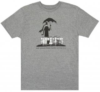 Edward Gorey / The Gashlycrumb Tinies Tee (Heather Grey)